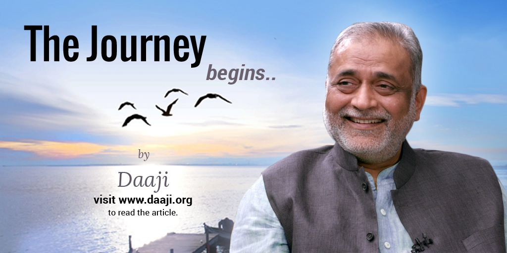 Daaji Journey Begins